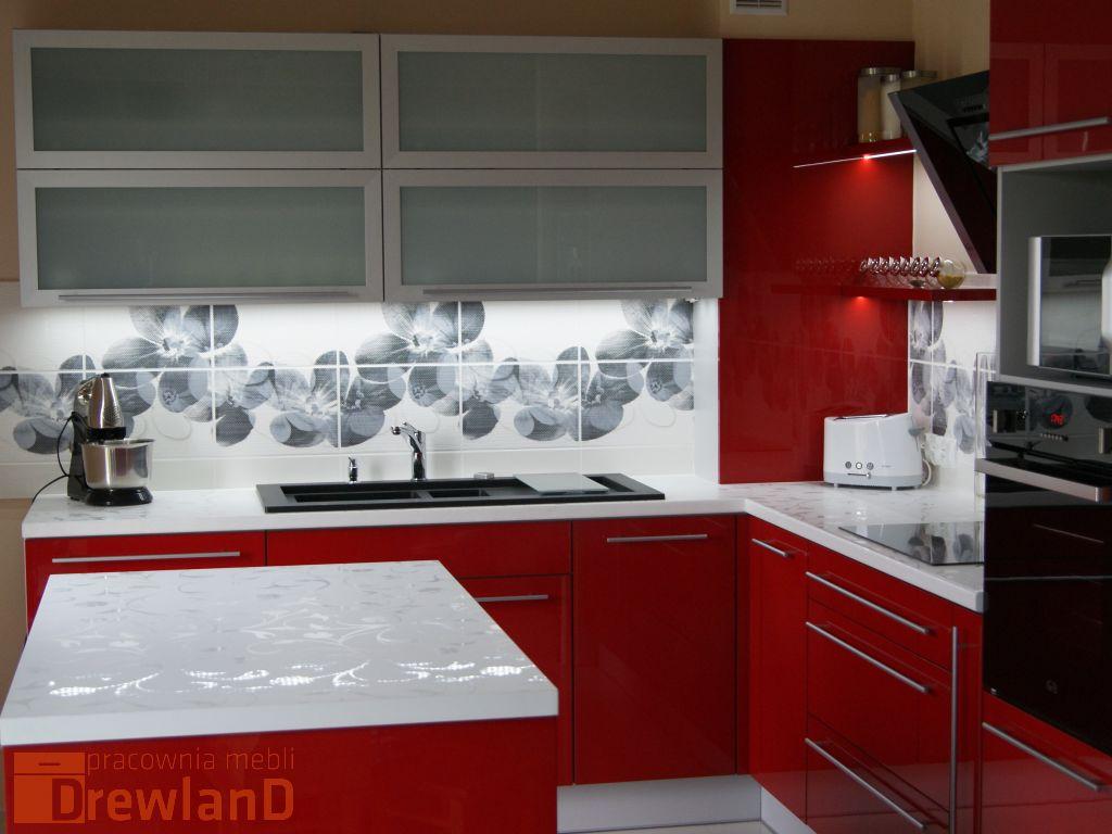 kolor czerwony w życiu w kuchni