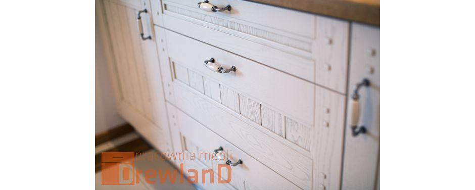 Fronty drewniane białe