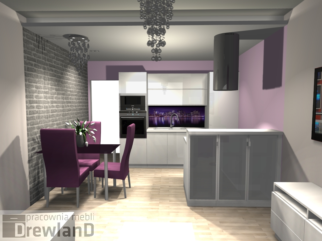 Realizacja kuchni Poznań  Drewland pl -> Salon Kuchni Poznan