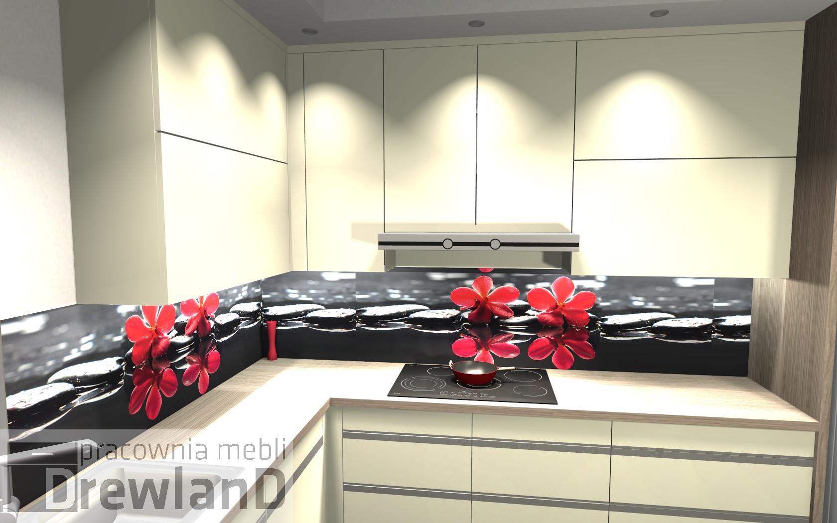 Wysokie szafki w kuchni  Drewland pl -> Szafki W Kuchni Do Sufitu Czy Nie