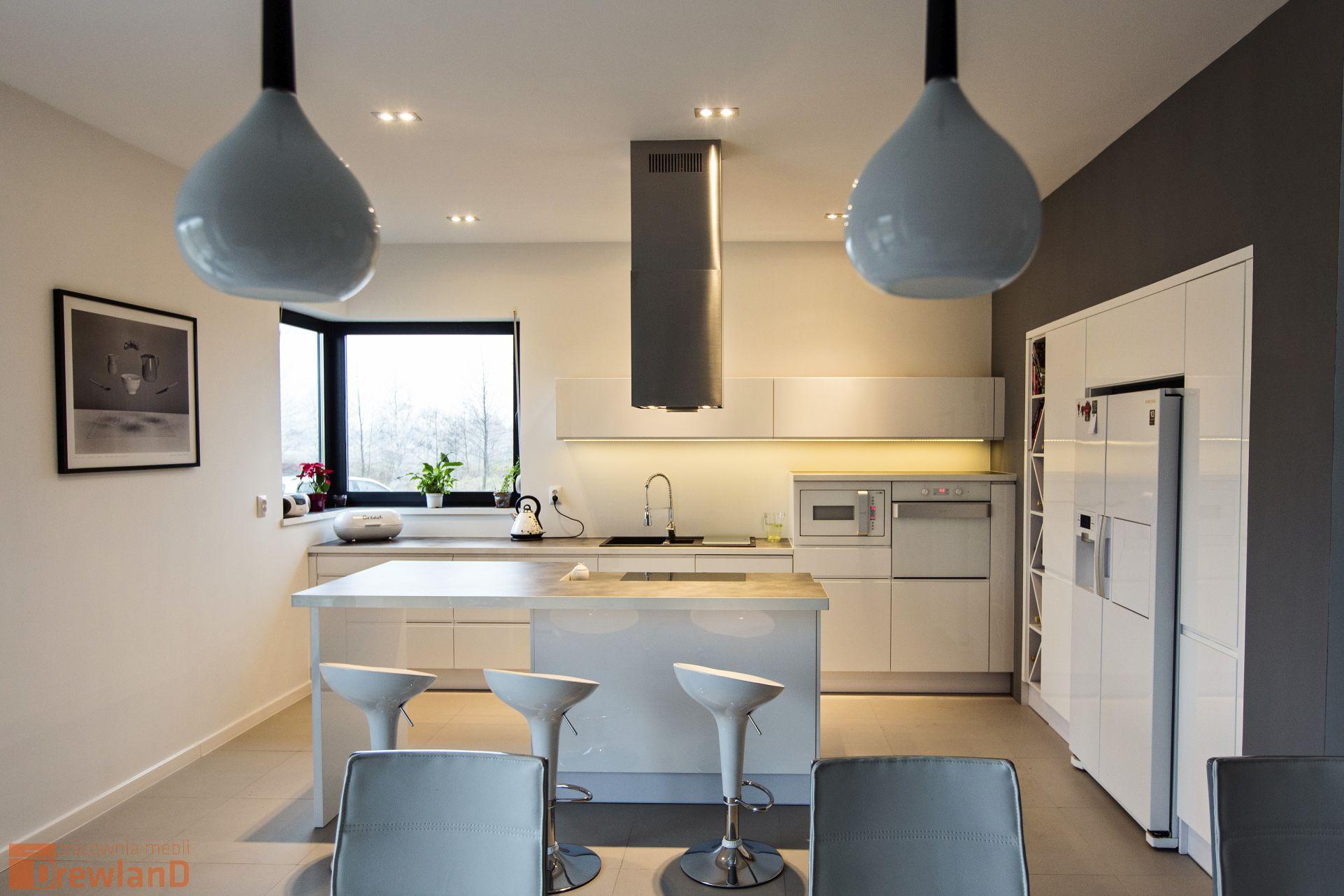 Przytulna Kuchnia  Drewland pl -> Otwarta Kuchnia Jadalnia Salon