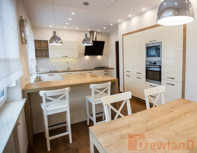 Kuchnia otwarta na salon  Drewland pl -> Kuchnia A Salon
