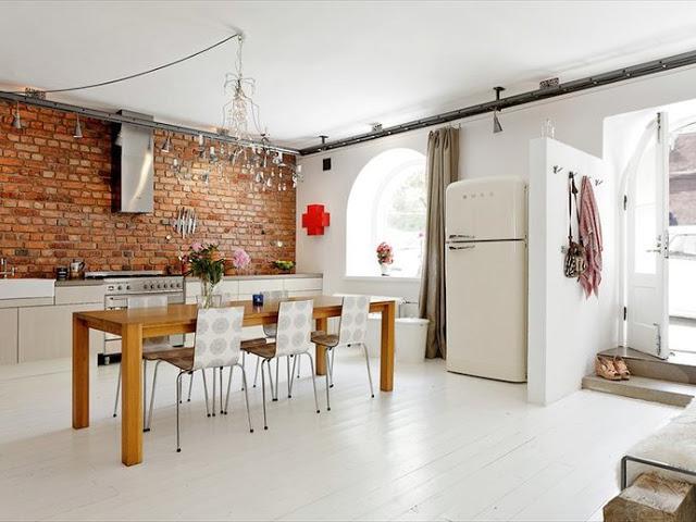 kuchnia w stylu skandynawskim. Black Bedroom Furniture Sets. Home Design Ideas