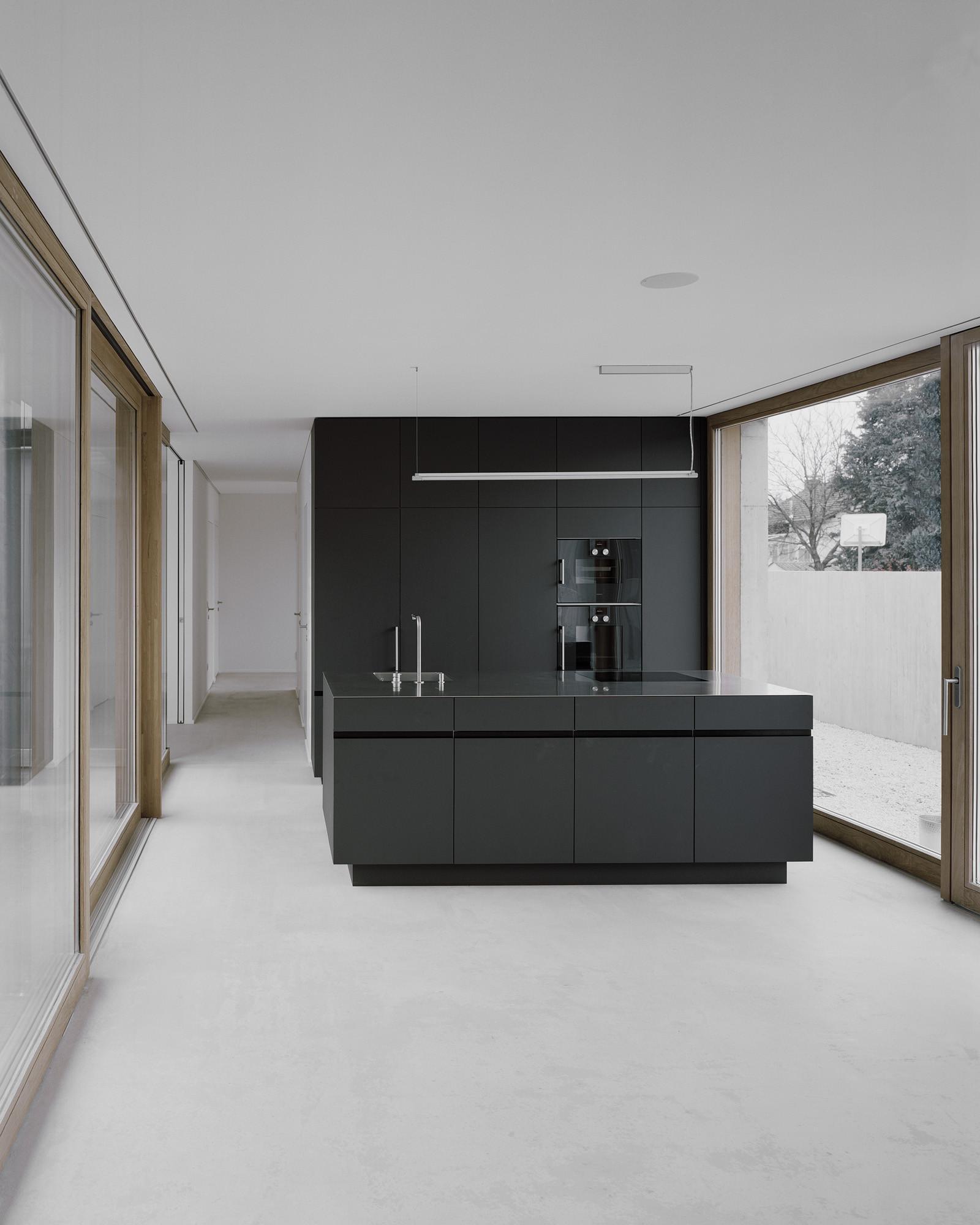 Minimalizm w kuchni - Moderne amerikaanse keuken ...