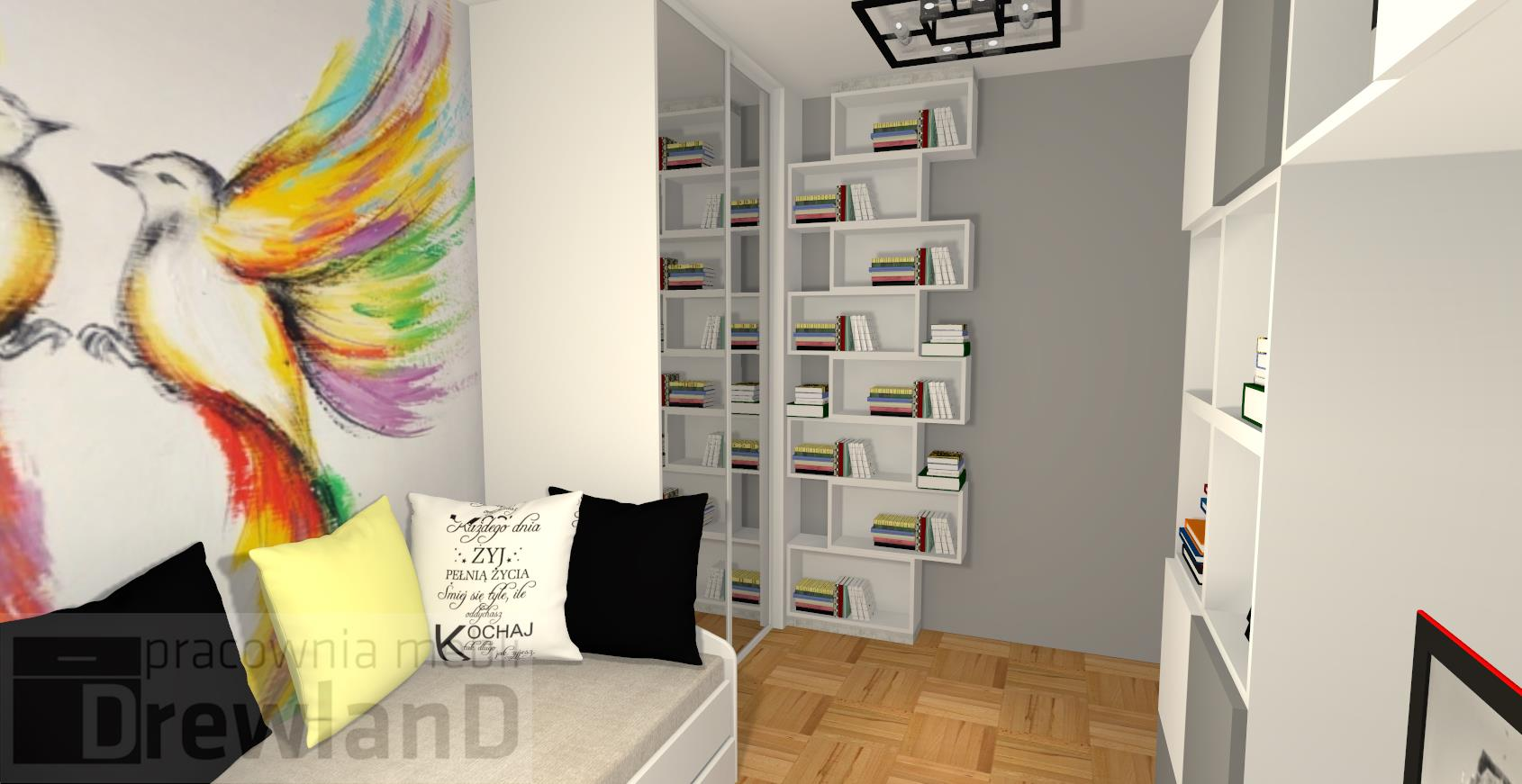 Projekt pokoju dla nastolatki