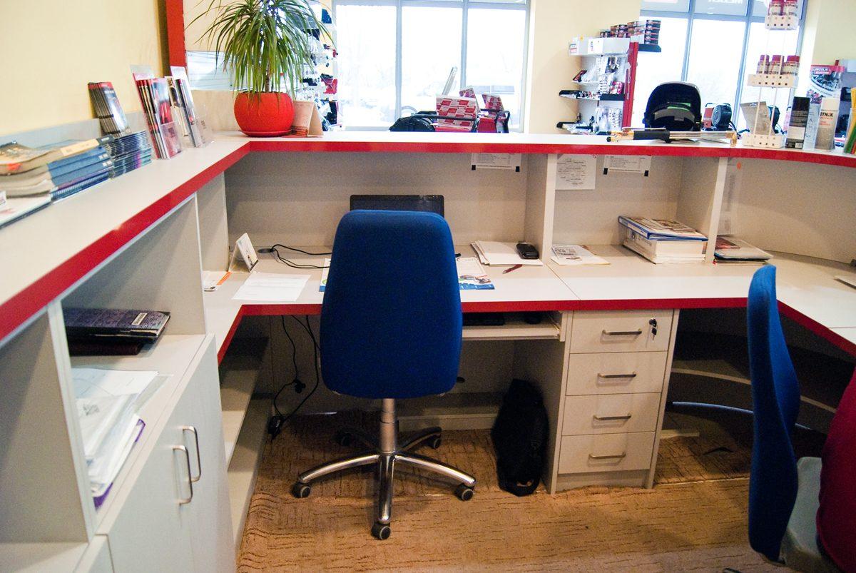 stanowisko biurowe wykonane na wymiar