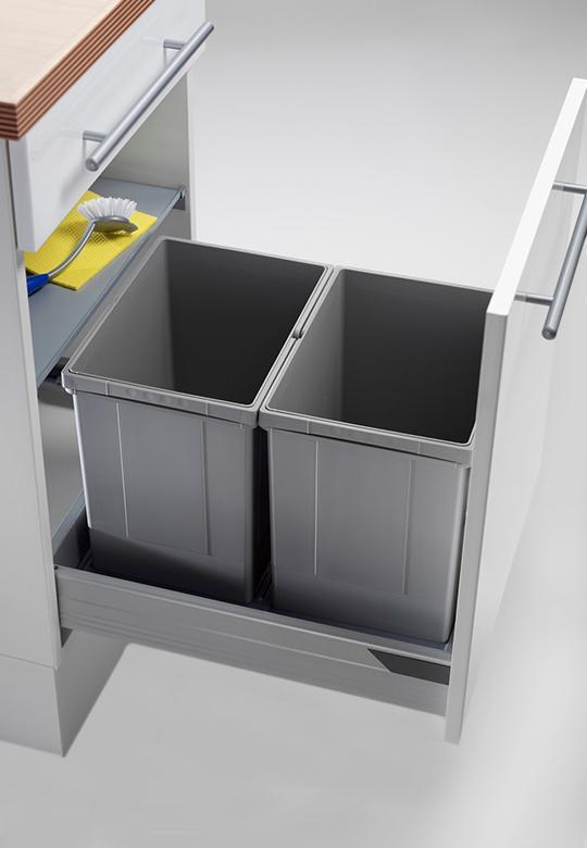 Segregacja do odpadów do szuflady