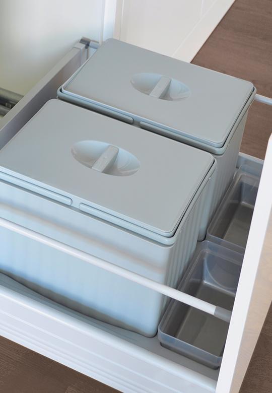 Segregacja odpadów w kuchni