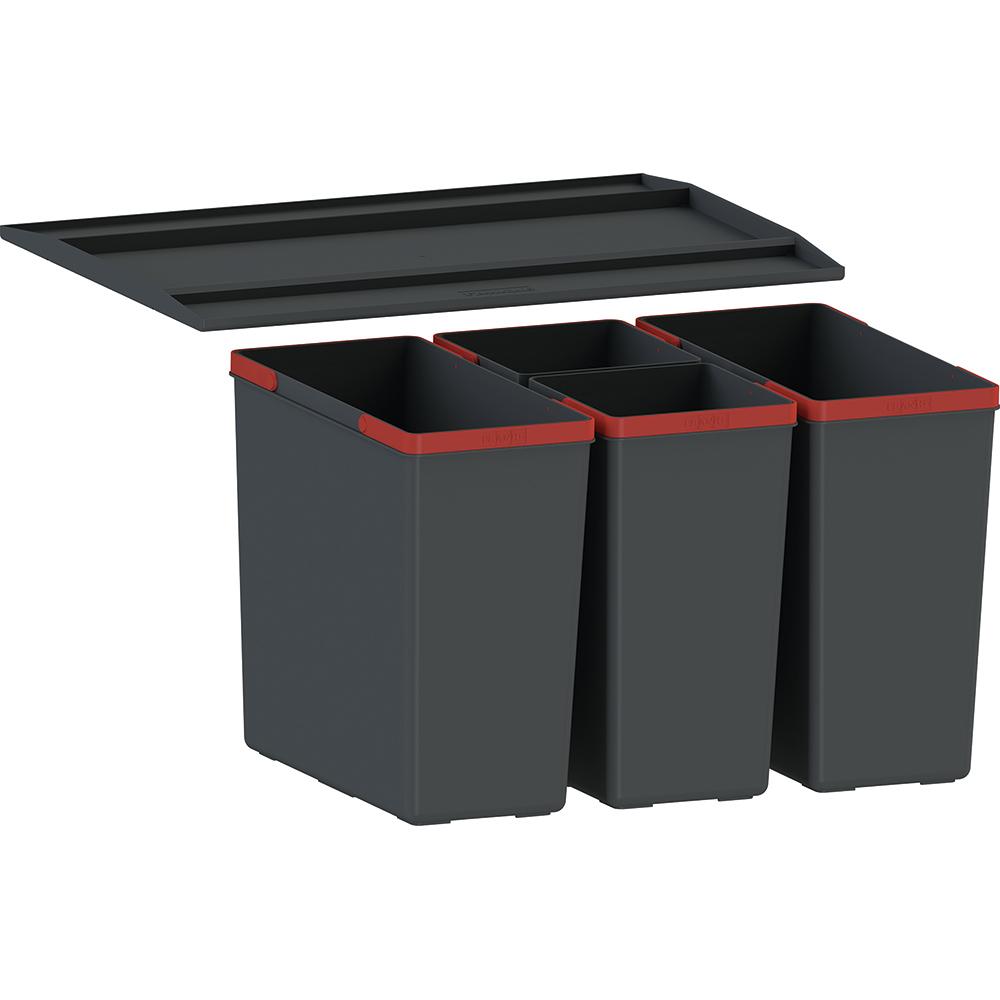 kosze do segregacji odpadów szuflada 60